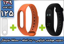 Xiaomi Mi Band 2 SmartBand with Screen Protector and one Colorful Silicone Wrist Strap